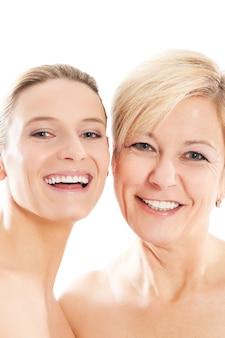 Belleza y cuidado de la piel en familia.