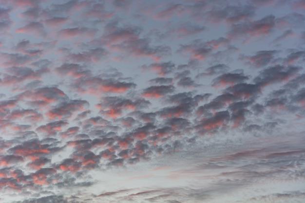 Belleza meteorología de color azul cielo