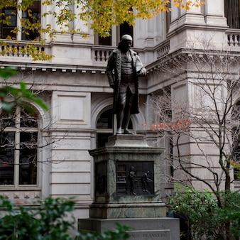 Benjamin franklin boston, massachusetts, ee.uu.