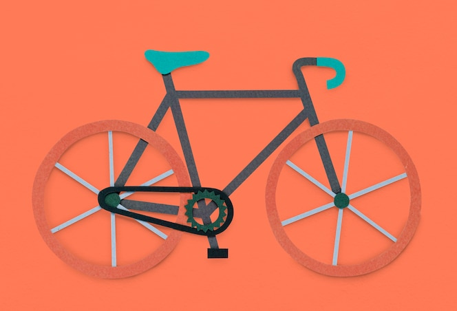 Bicicleta bike hobby icon symbol