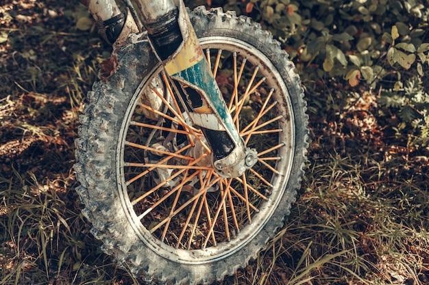 Bicicleta de motocross - detalles