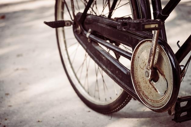 Bicicleta vieja de la vendimia