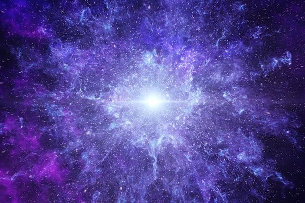 Big bang en el espacio