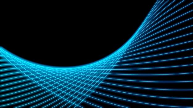 Big data. fondo futurista tecnología azul. tecnología cibernética