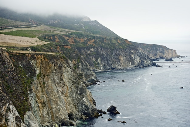 Big sur costa de california