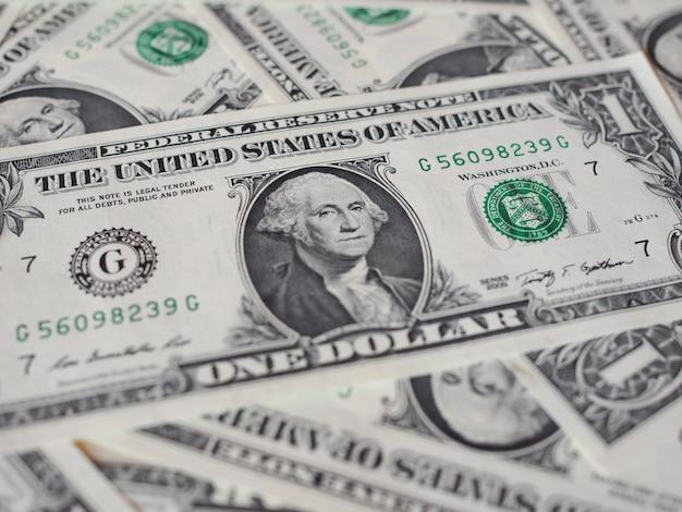 Billetes de dólar 1 dólar