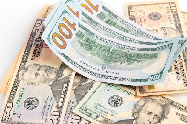 Billetes de dólares estadounidenses
