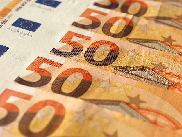 Billetes de euro, unión europea
