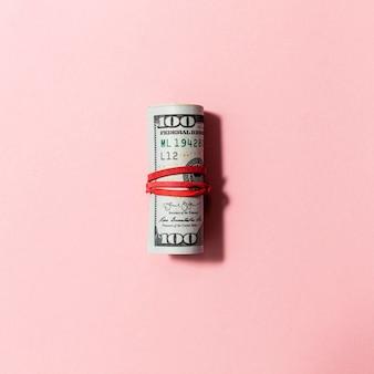 Billetes planos con banda elástica