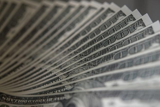 Billie dólar. fondo de dinero