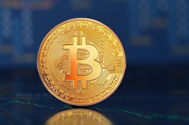 Bitcoin y gráfico