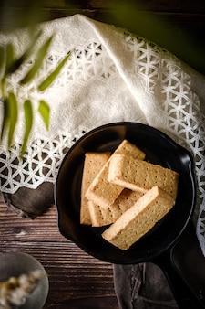 Bizcocho de dedo tradicional para galletas de mantequilla.