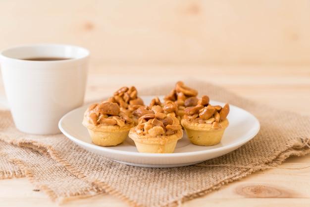 Bizcocho de toffee con cafe