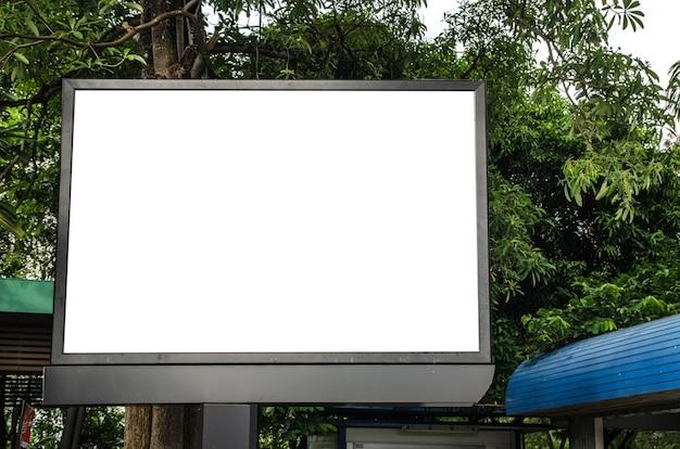 Blanco anuncia en el parque