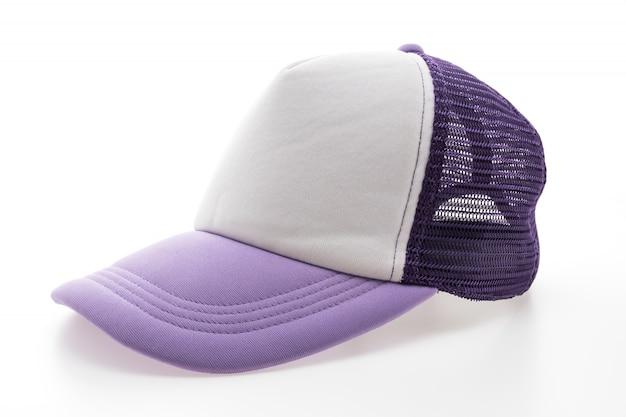 Blanco de béisbol vacío verde púrpura