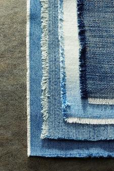 Blue jeans como textura de fondo