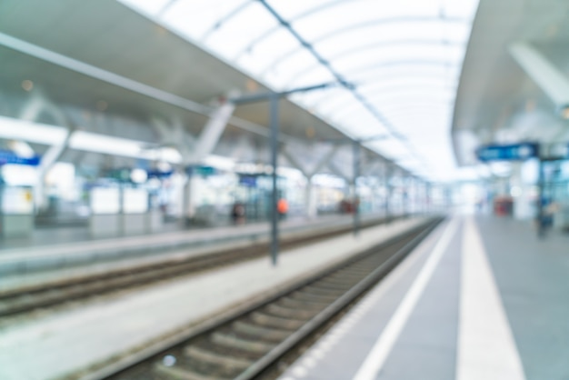 Blur train statiion