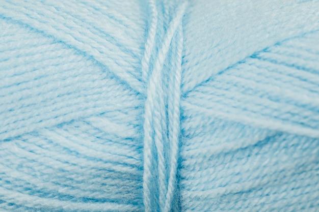 Bobina de hilo de lana