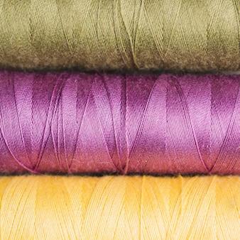 Bobinas de hilo de coser