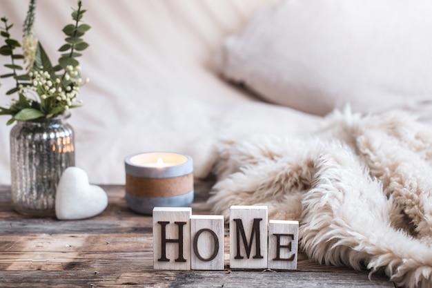 Bodegón ambiente hogareño en el interior