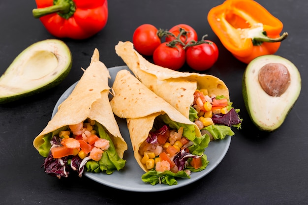 Bodegón de comida mejicana