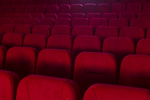 Bodegón de sillas de cine