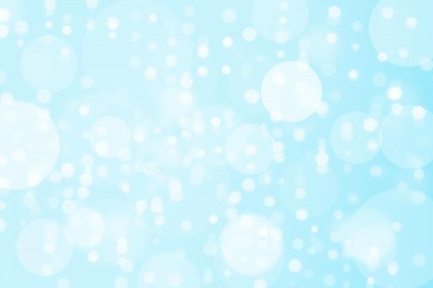 Bokeh azul abstracto