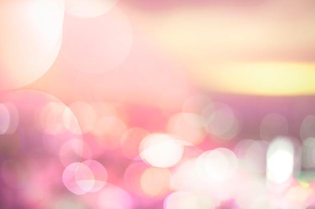 Bokeh colorido luces de fondo