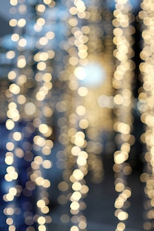 Bokeh noche iluminaciones backgrond