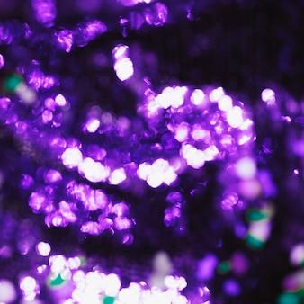 Bokeh púrpura fondo claro