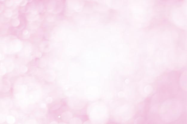 Bokeh rosa, fondo abstracto rosa.