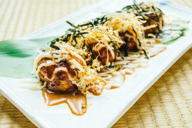 Bola de calamar takoyaki
