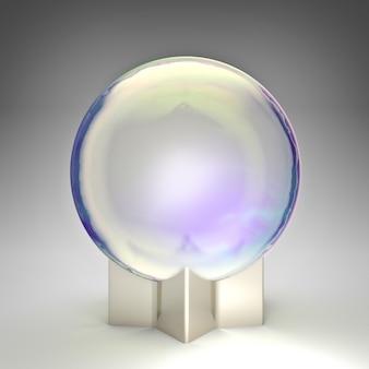 Bola de cristal de fantasía