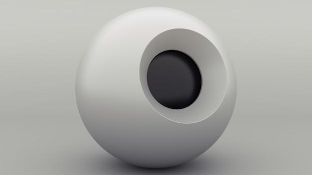 Bola mágica esfera gris