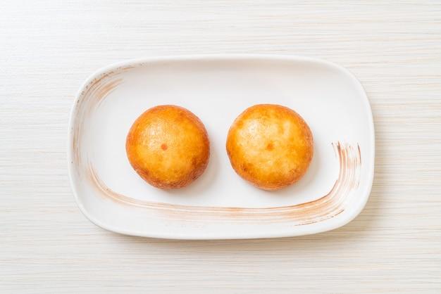 Bollos de lava chinos fritos