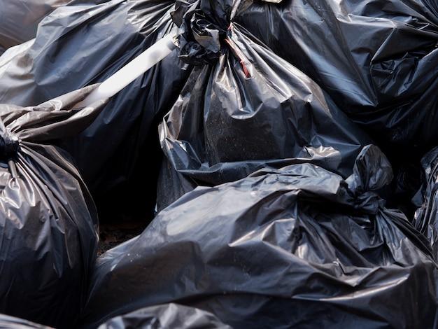 Bolsa de basura negro