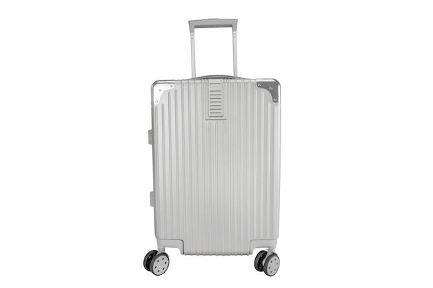 Bolsa de equipaje plateada