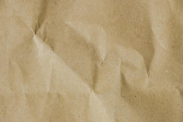 Bolsa de papel de textura de bolsa marrón arruga