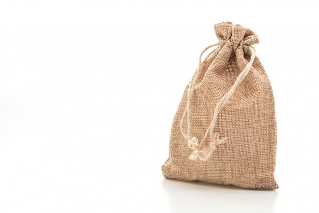 Bolsa de tela de saco