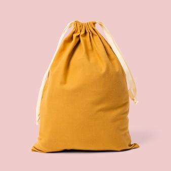 Bolso simple con cordón blanco con cuerda