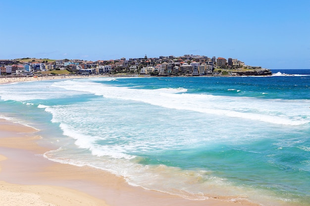 Bondi beach en sydney, australia