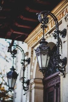 Bonitas lámpara de exterior