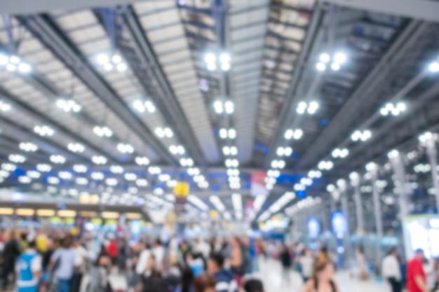 Borrosa pared del aeropuerto internacional