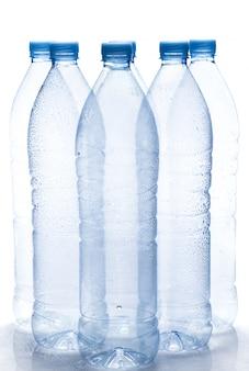 Botella de agua vacía