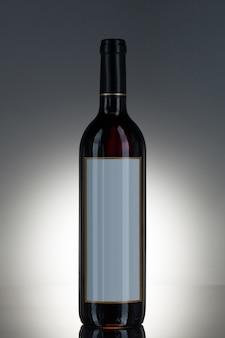 Botella con alcohol