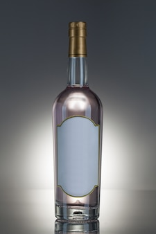 Botella de alcohol Foto gratis