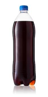 Botella de cola de plástico