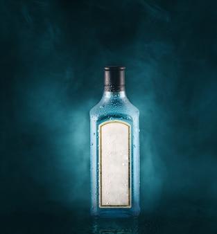 Botella de ginebra