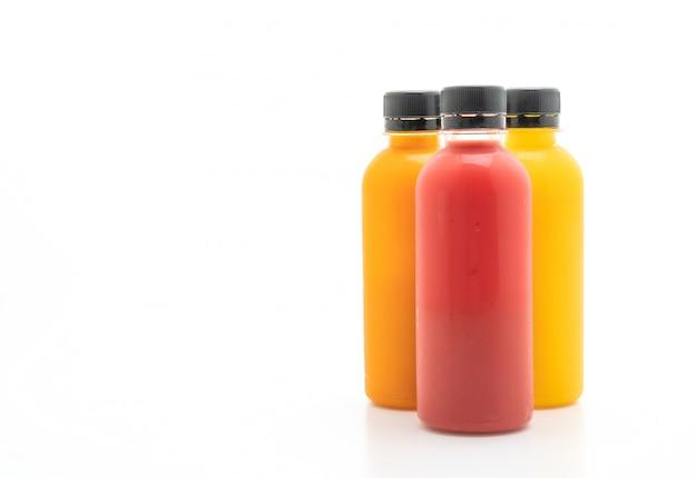 Botella de jugo de frutas y verduras (bebida saludable)