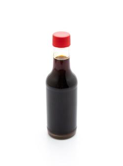 Botella de salsa de soja teriyaki